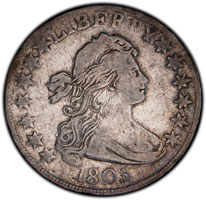 Draped Bust Half Dollar For Sale