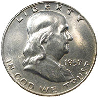Franklin Half Dollar For Sale