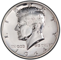 Kennedy Half Dollar For Sale