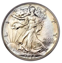 Liberty Walking Half Dollar For Sale