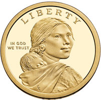 native american dollar coin for sale