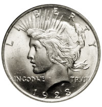 Peace Silver Dollar For Sale