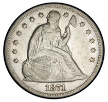 Seated Liberty Dollar For Sale