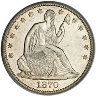 Seated Liberty Half Dollar For Sale