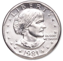 susan b anthony coin dollar for sale