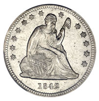 Seated Liberty Quarters For Sale
