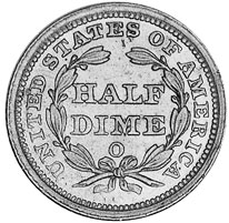 Us Half Dimes For Sale