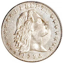 Flowing Hair Half Dimes For Sale