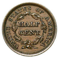 Us Half Cents For Sale