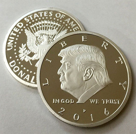 Donald Trump Novelty Coin For Sale