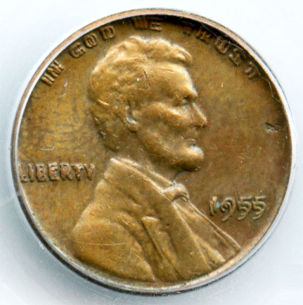 1955 Doubled Die Lincoln Penny Cent