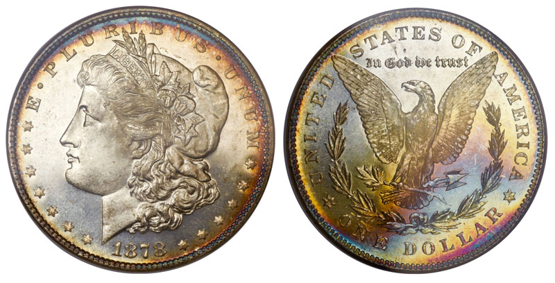 1878 Morgan Dollar Value Chart