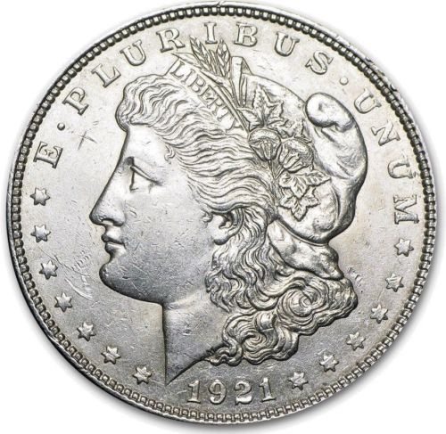 1921 Morgan Dollar Value