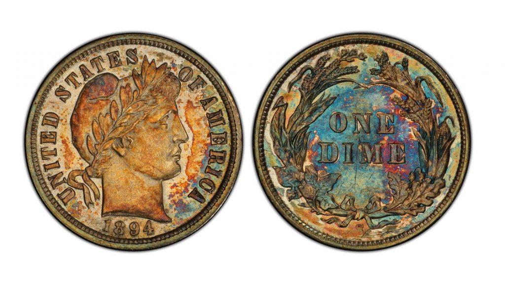 1894 S Dime Sold 1.32 Million