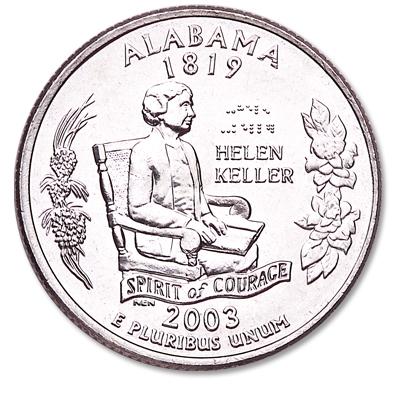 Alabama State Quarter
